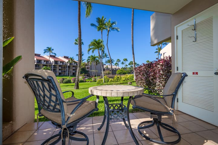 Kamaole Sands, Beautiful Ocean Views, Ground Floor