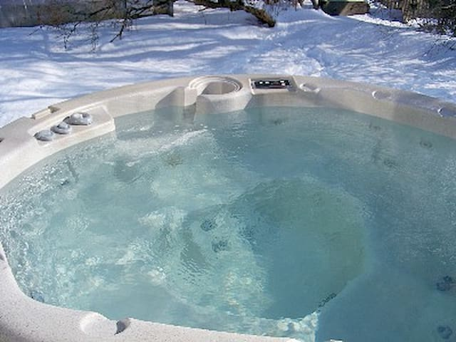 Charming,Private,Romantic,Hot Tub! - Brunswick - House