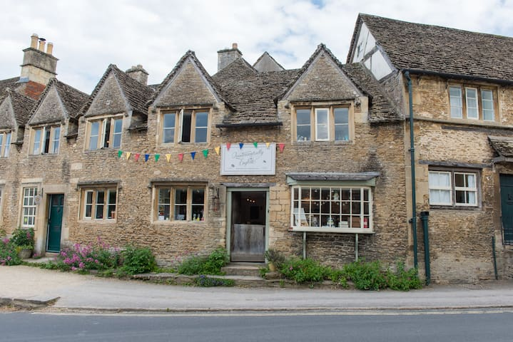 Right in the heart of Lacock