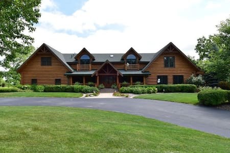 Luxury Log Cabin near Elkhart Lake - Plymouth - Kisház
