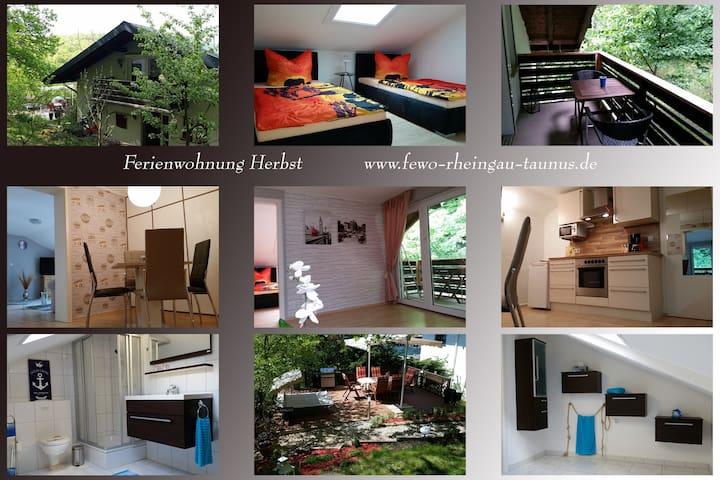 Ferienwohnung Herbst - Aarbergen - Appartement