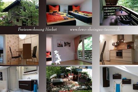 Ferienwohnung Herbst - Aarbergen - Wohnung