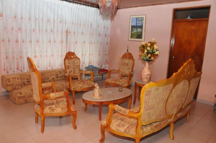 Habitación privada con baño privado - San Andrés and Providencia - Maison