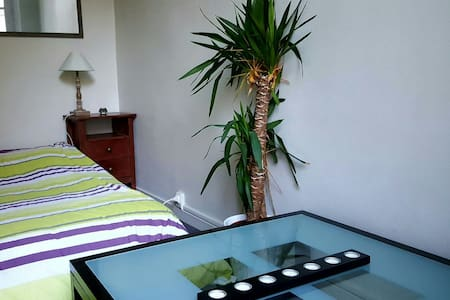 Belle chambre avec balcon en centre ville - Saumur - Apartment