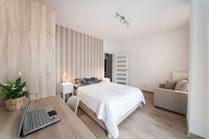 City Tower Apartment 1 od WroclawApartament-pl