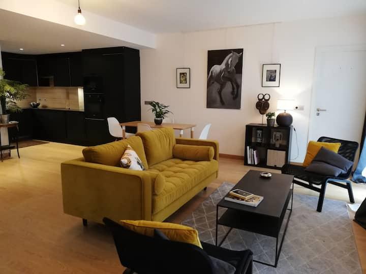 Appartement sur cour à Montmartre.