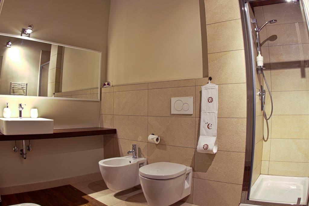 La Giuggiola - bagno privato con doccia
