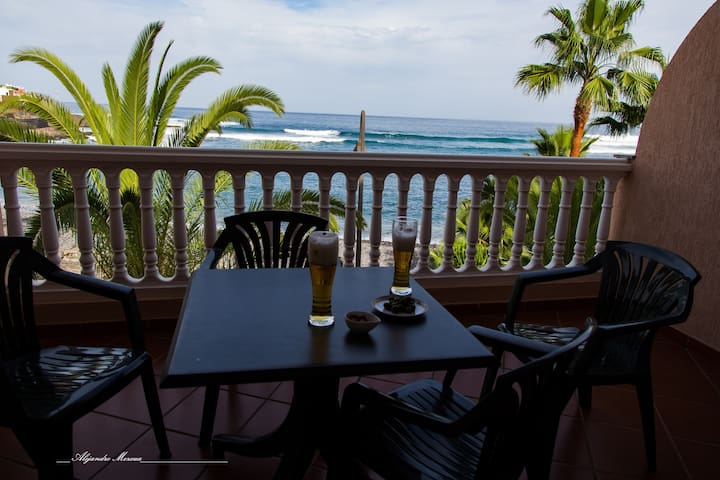 Beach, Surf, Golf, Trekking... in Tenerife - La Caleta de Interián - Appartement