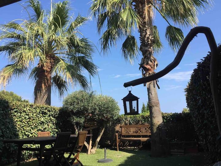 Issambres : appart. terrasse+jardin 200m de la mer