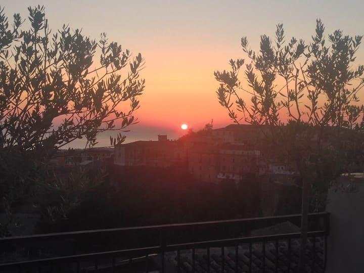 La Casa delle Conchiglie affacciata sul Mar Jonio