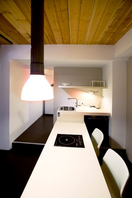 dining area can also be your working area.用餐区也可以当做办公区。