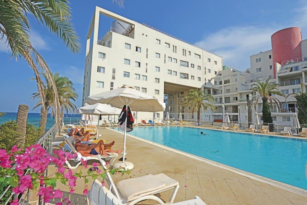 big resident pool