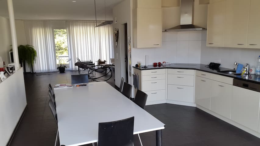 Modernes Haus mit Sauna! - Brugg - บ้าน
