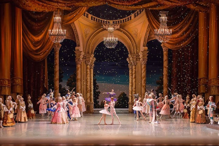 Mariinsky Theater in 3 minutes walk   https://www.mariinsky.ru