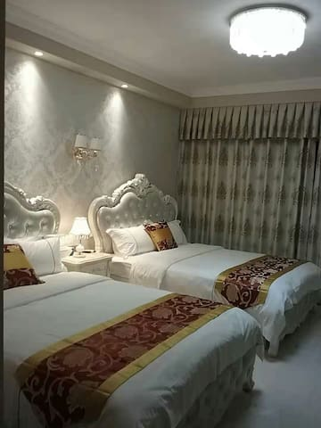 公寓內双床