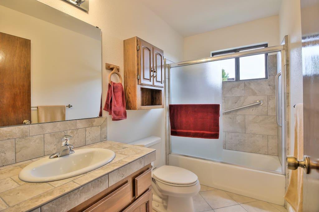 Private bath for masterbedroom