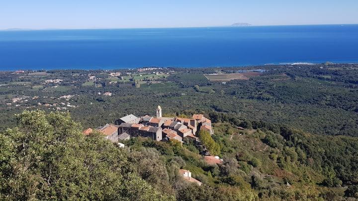 House in the village Santa Maria Poggio