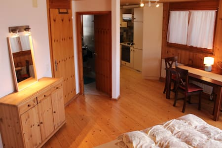 Wohnung im Herzen der Alpen inmitten des Rheintals - Schellenberg - 아파트