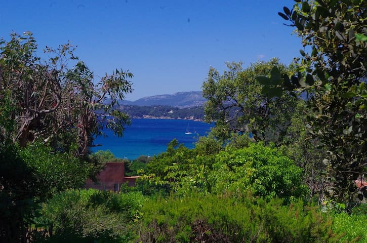Studio vue mer- 10mn des plages - Le Pradet - Rumah