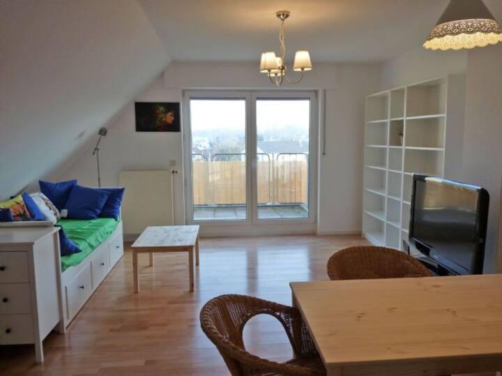 Komfortappartement mit grossem Panoramabalkon