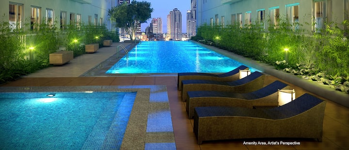 Hotelike Condo at Green Residences in Metro Manila