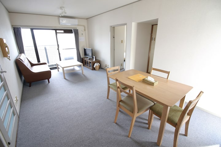 Apartment with the natural environment of Kyoto