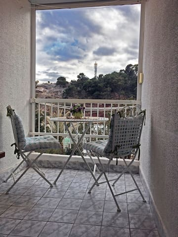 Summer Studio Apartment - close to the beach! - Sutomore - Apartemen