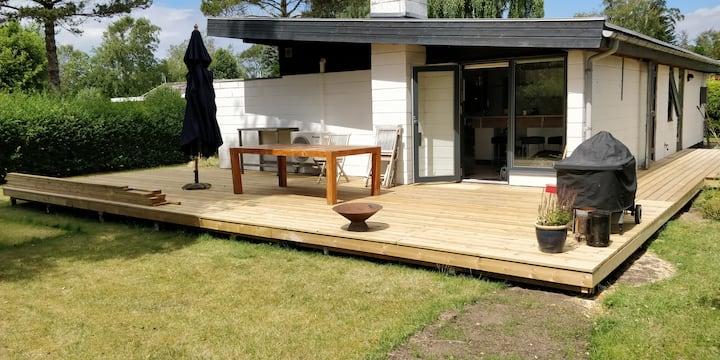 Lækkert moderne sommerhus ved Storebælt
