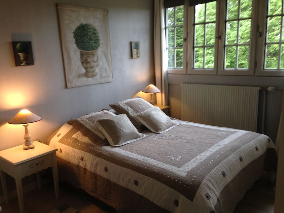 1ère chambre lit double