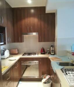 조용한잠자리 세탁기 냉장고 티비 자유롭게 이용 - Rhodes - Wohnung