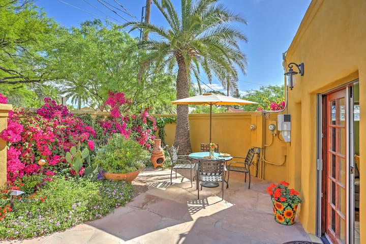Tucson Cottage w/ Patio - Mins From Downtown & UA!