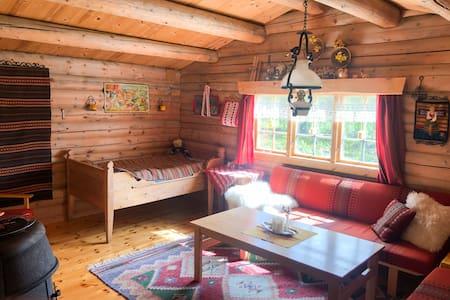 Idyllisk hytte ved Liavatnet