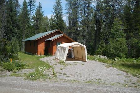 Cozy Creek-side House Near Glacier National Park