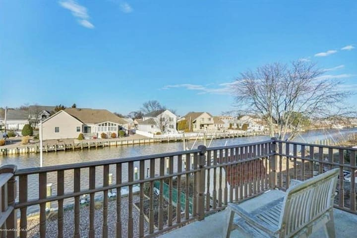 Lagoon Luxury, Waterfront Home with Private Bar!