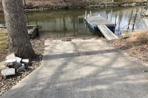 Boat ramp and dock