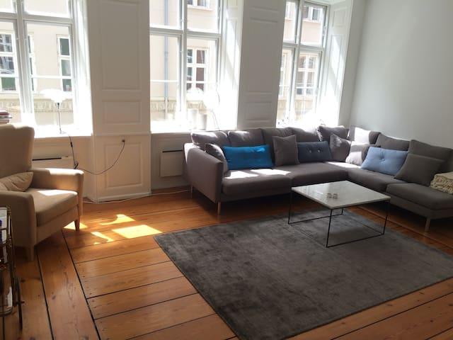 Large (118 sqm) City Center apartment