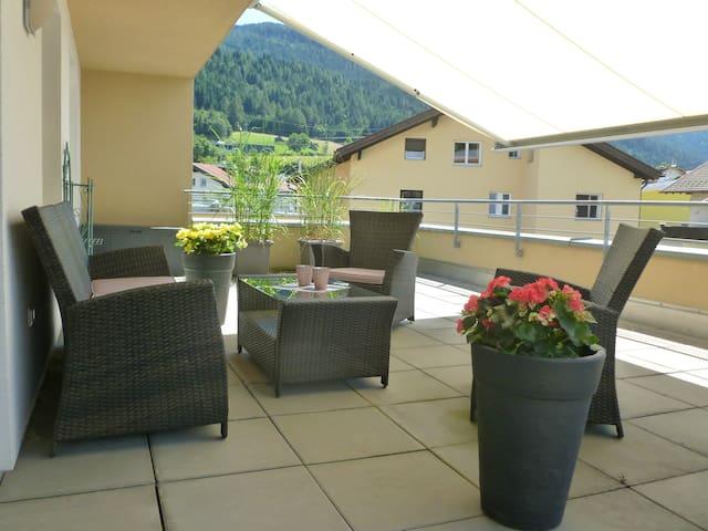 Moderne Dachterrassenwohnung Nähe Innsbruck - Gemeinde Götzens - Apartment