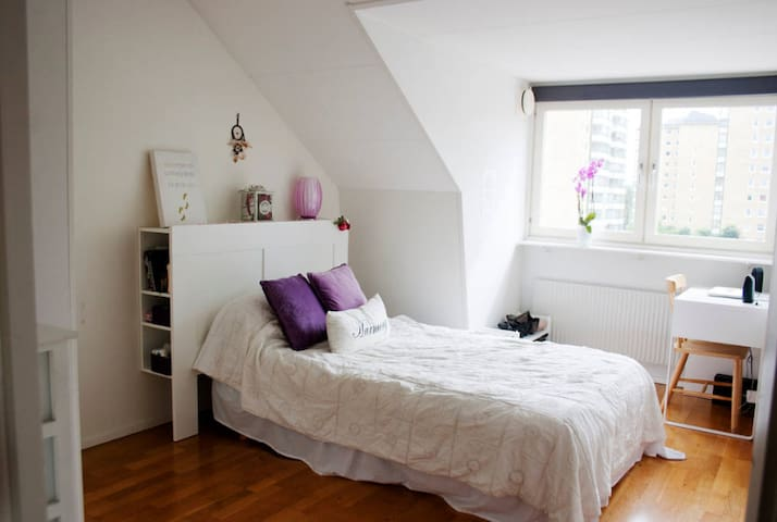 Cozy room 6 minutes from city central - Göteborg - Appartement