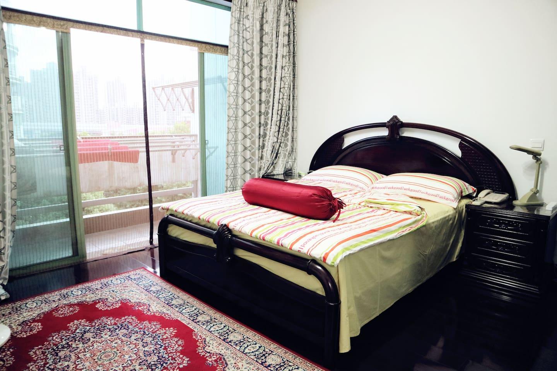 房客的卧室(带专属露天大阳台)