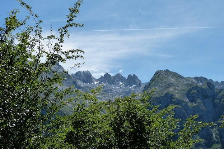 Casa en los Picos de Europa.