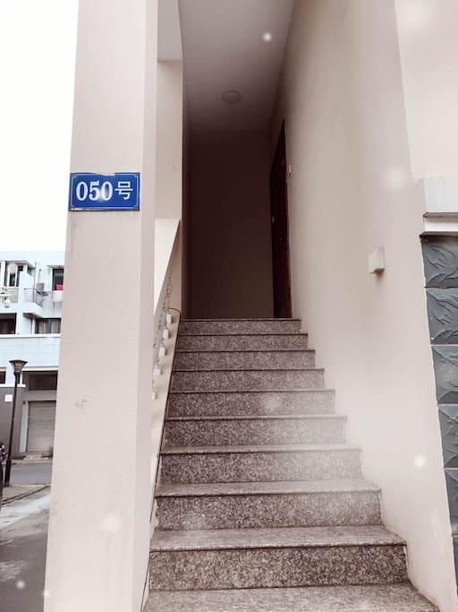 进房外楼梯