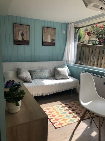 Casa con jardín en Vigo, habitaciones para 4