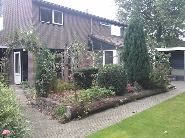 House with garden in Hoorn, close to Amsterdam.