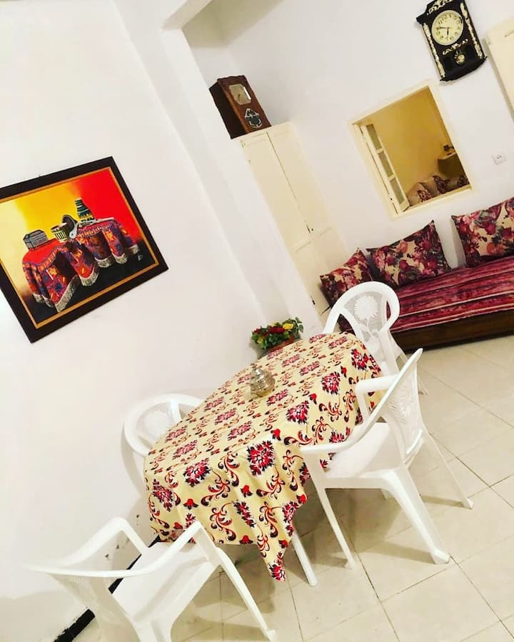 Beautiful traditional house, in the heart of Rabat