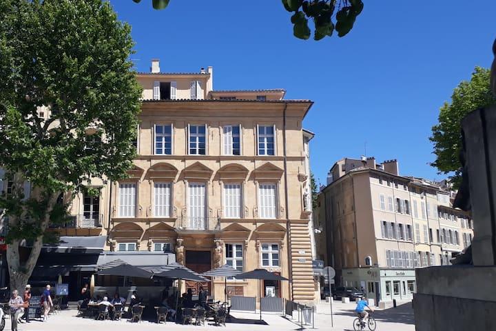 Hôtel particulier Aixois - Centre Historique