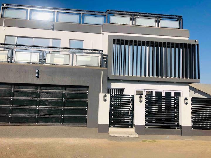 The Sgegede White House in Vuka..