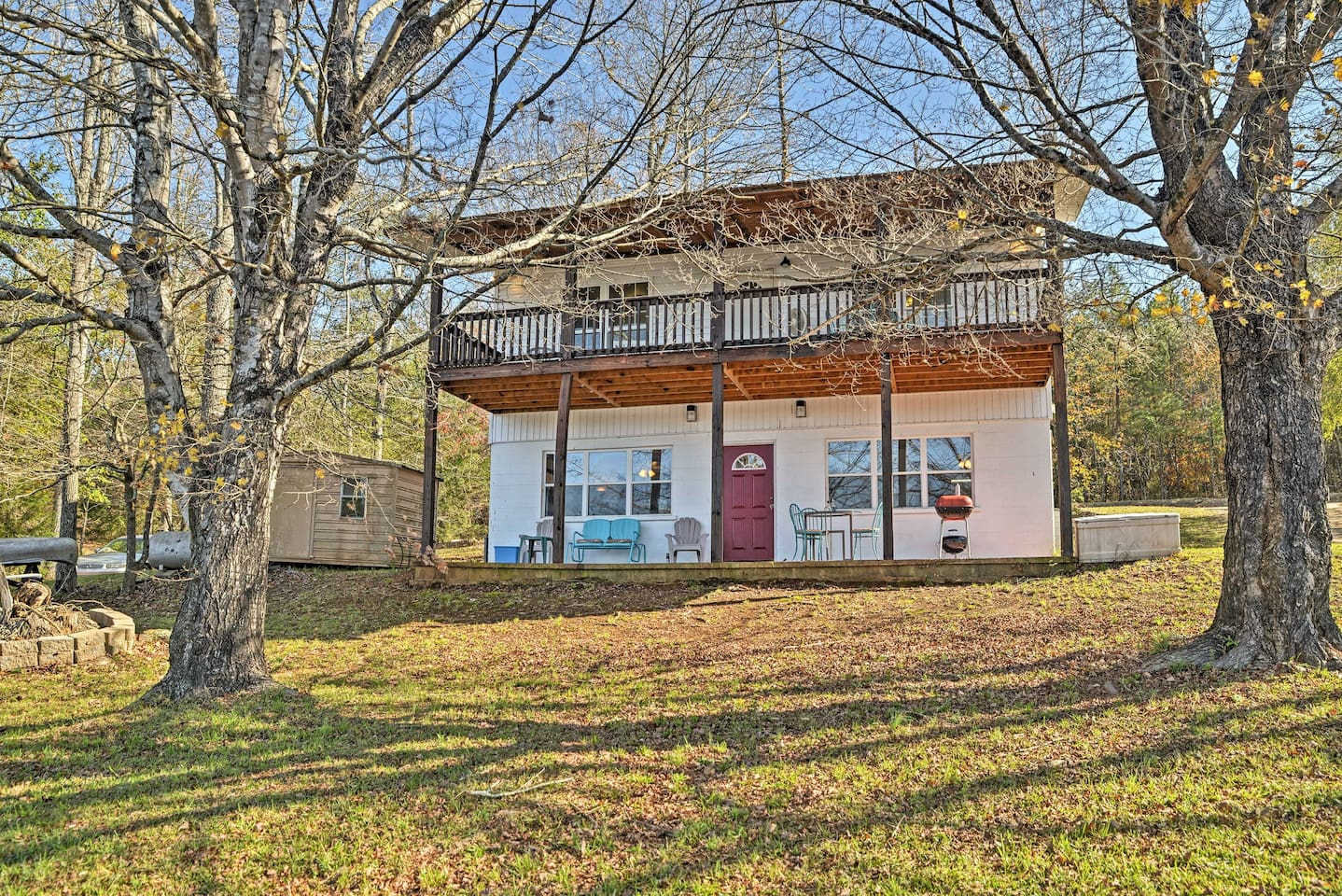 Restore your sense of peace while staying at this Delta vacation rental cottage!