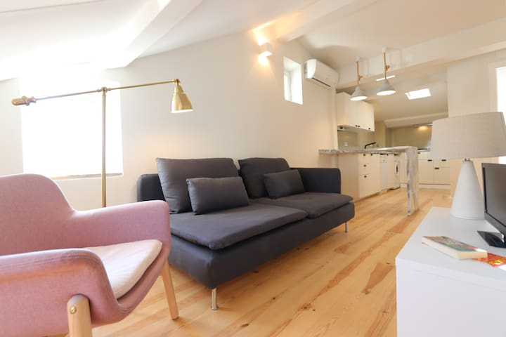 Apt in historic centre/Baixa, great style &comfort