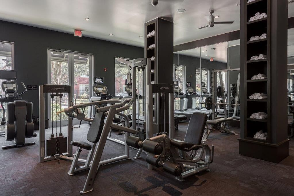 24 hr. state of the art fitness center