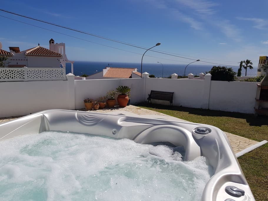 NEW! Sea view from a new Jacuzzi!
